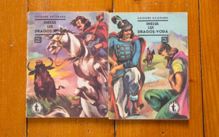 Grigore Bajenaru - Inelul lui Dragos-Voda (2 vol.)