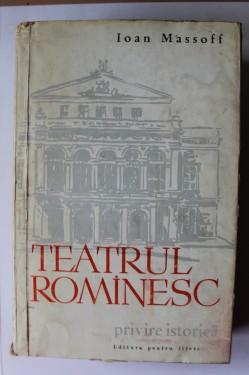 Ioan Massoff - Teatrul romanesc