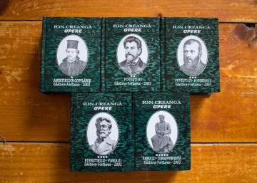 Ion Creanga - Opere (5 vol. in caseta speciala, format liliput, hardcover)