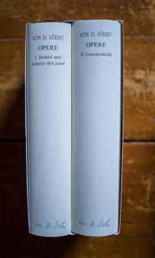Ion D. Sirbu - Opere I-II (I. Jurnalul unui jurnalist fara jurnal, II. Corespondenta) (2 vol., editie hardcover)