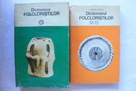 Iordan Datcu - Dictionarul folcloristilor (2 vol., vol. I - hardcover)