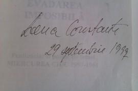 Lena Constante - Evadarea imposibila (cu autograf)