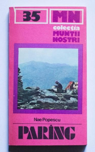 Nae Popescu - Parang (colectia Muntii nostri)