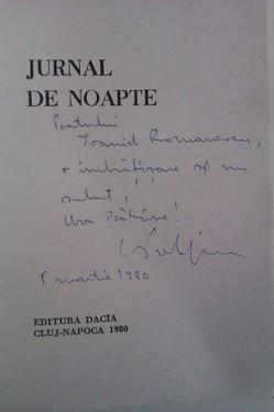 Nicolae Prelipceanu - Jurnal de noapte (cu autograf)