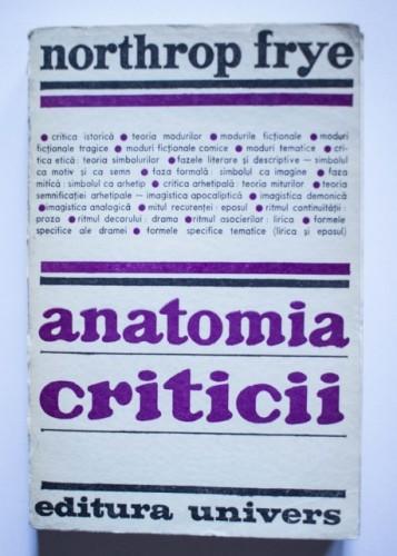 Northrop Frye - Anatomia criticii