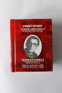 Panait Istrati - Scrieri esentiale (5 vol. in caseta speciala, format liliput, editie bilingva, romano-franceza, hardcover)