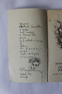 Petre Ghelmez - Cine esti, pasare? (cu autograf)