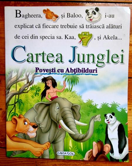 Rudyard Kipling - Cartea Junglei (povesti cu abtibilduri)