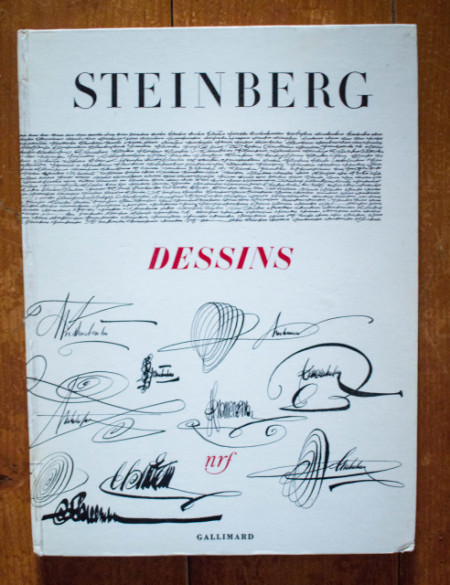 Saul Steinberg - Dessins (editie hardcover, in limba franceza)