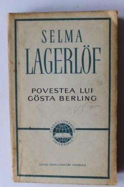Selma Lagerlof - Povestea lui Gosta Berling
