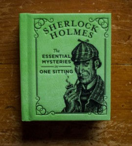 Poze Sherlock Holmes: The essential mysteries in one sitting (editie hardcover, format liliput)