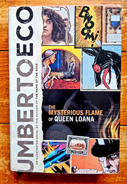 Umberto Eco - The Mysterious Flame of Queen Loana (editie hardcover)