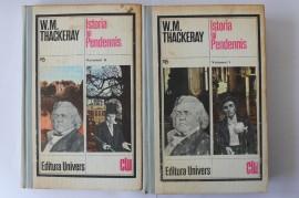 W. M. Thackeray - Istoria lui Pendennis (2 vol., editie hardcover)