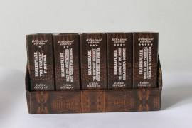 William Shakespeare - Scrieri esentiale I (5 vol. in caseta speciala, format liliput, editie bilingva romano-engleza, hardcover)