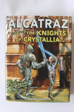 Brandon Sanderson - Alcatraz versus the Knights of Crystallia (editie hardcover)
