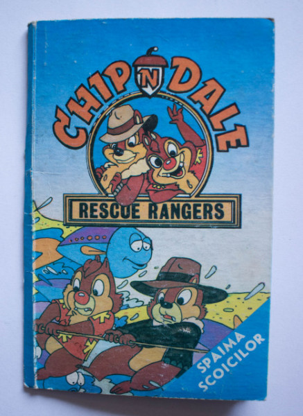 Chip and Dale - Rescue rangers. Spaima scoicilor (carte 3D)
