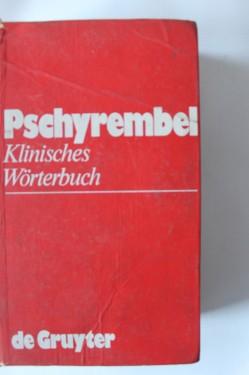 Colectiv autori - Pschyrembel Klinisches Worterbuch (editie in limba germana, hardcover)