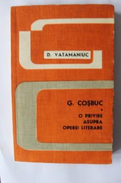 D. Vatamaniuc - G. Cosbuc. O privire asupra operei literare