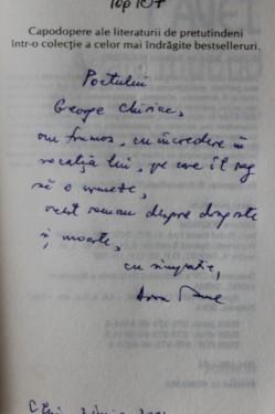 Dora Pavel - Agata murind (cu autograf)