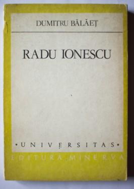 Dumitru Balaet - Radu Ionescu (un fiu al fantasiei)