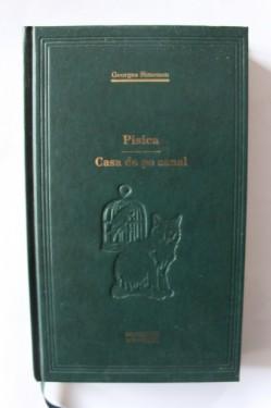 Georges Simenon - Pisica. Casa de pe canal (editie hardcover)