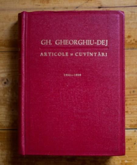 Gh. Gheorghiu-Dej - Articole si cuvantari (decembrie 1955 - iulie 1959)