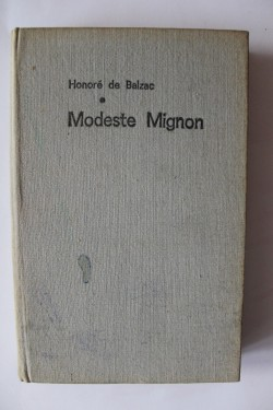 Honore de Balzac - Modeste Mignon (editie hardcover)
