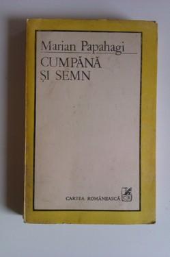 Marian Papahagi - Cumpana si semn