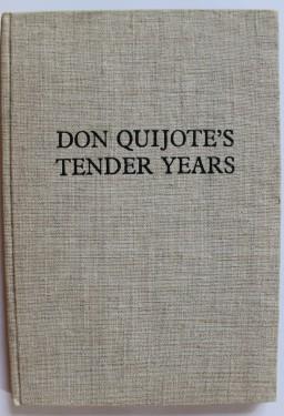 Marin Sorescu - Don Quijote`s tender years (editie hardcover in limba engleza, exemplarul 8 din 75, cu autograful autorului - Marin Sorescu si al ilustratorului - Florin Puca)