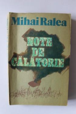 Mihai Ralea - Note de calatorie