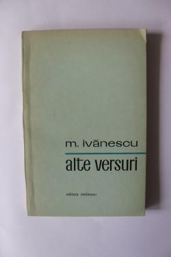 Mircea Ivanescu - Alte versuri