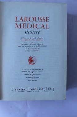 Poze Nouveau Larousse Medical Illustre