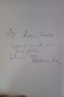 Octavian Paler - Viata pe un peron (cu autograf)