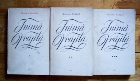 Romain Rolland - Inima vrajita (3 vol.)