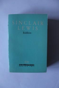 Sinclair Lewis - Babbitt