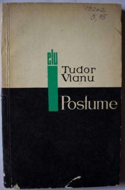 Tudor Vianu - Postume