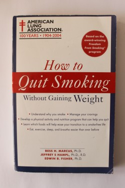 Poze Bess H. Marcus, Jeffrey H. Hampl, Edwin B. Fisher - How to quit smoking without gaining weight (editie in limba engleza)