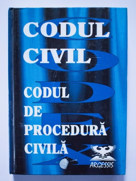 Codul civil. Codul de procedura civila (editie hardcover)