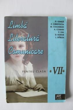 Colectiv autori - Literatura. Limba romana. Comunicare (clasa a VII-a)