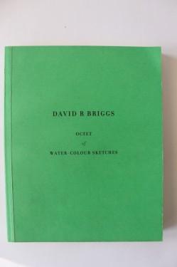 David R. Briggs - Octet of water-colour sketches