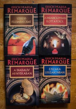 Erich Maria Remarque - A Diadaliv arnyekaban. A paradicsomban is ott a pokol. Szeresd felebaratodat. Ejszaka Lisszabonban (4 vol., editii hardcover)