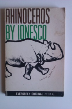 Eugene Ionesco - Rhinoceros and other plays (editie in limba engleza)