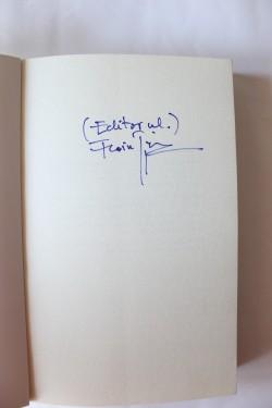 Florin Piersic Jr. - Fictiuni reale (cu autograf)