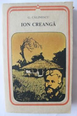 G. Calinescu - Ion Creanga