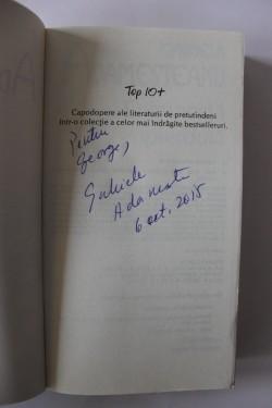 Gabriela Adamesteanu - Dimineata pierduta (cu autograf)