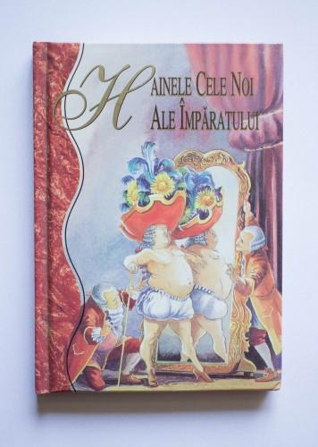 Hans Christian Andersen - Hainele cele noi ale imparatului (editie bibliofila, hardcover)