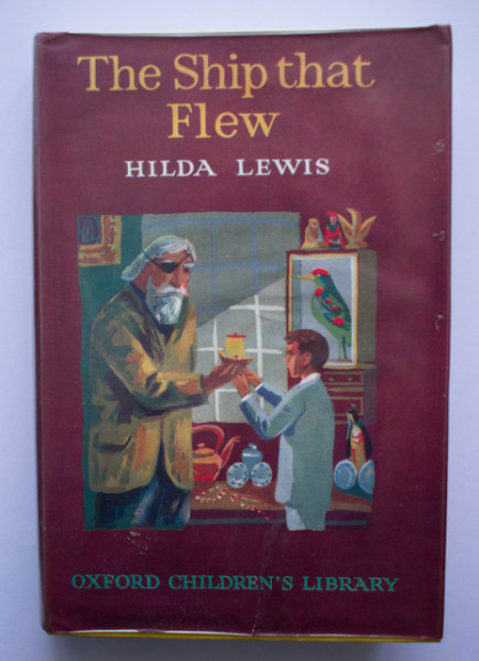 Hilda Lewis - The Ship that Flew (editie hardcover, in limba engleza)