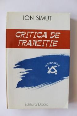Ion Simut - Critica de tranzitie