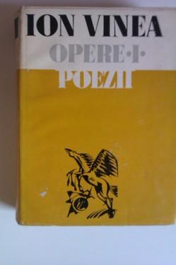 Ion Vinea - Opere complete I-IV (4 vol., editie hardcover)