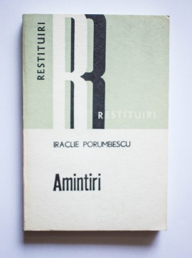 Iraclie Porumbescu - Amintiri